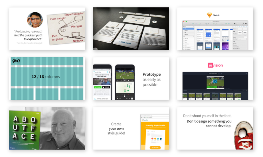 The School of UX: Wireframing and Prototyping course