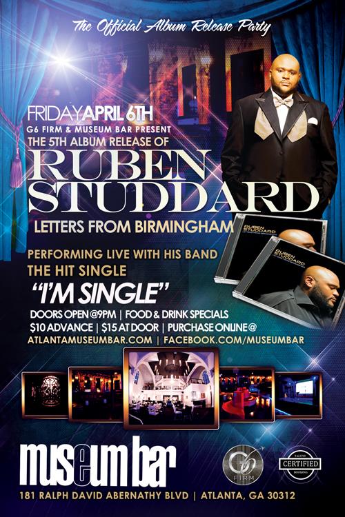 Ruben Studdard Official Album Release Party