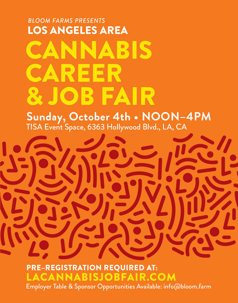 Los Angeles Cannabis Career  Job Fair Sunday  Presented - Los angeles postal code