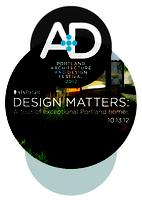 Design Matters: A Tour of Exceptional Portland Homes 2012