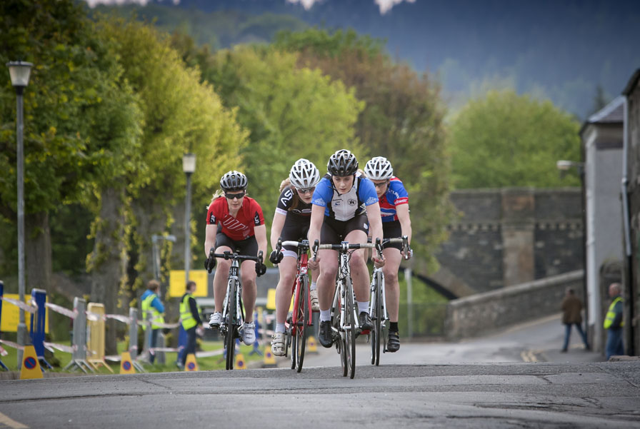 Peebles Sprint Women's Race