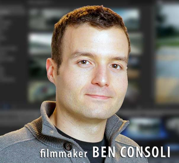 Filmmaker Ben Consoli