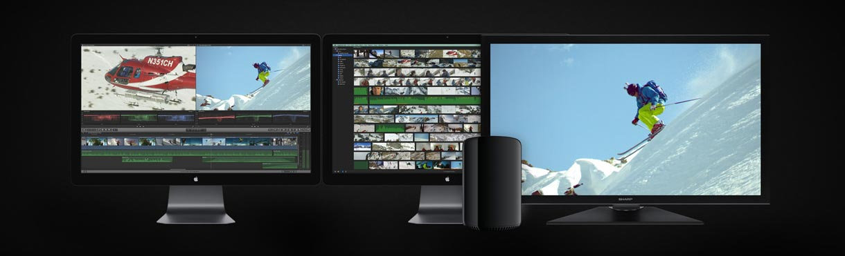 Final Cut Pro X 10.1 and the new MacPro