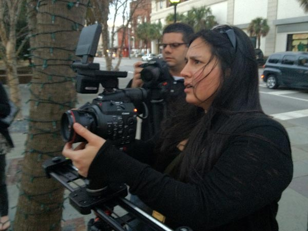 BOSCPUG with filmmaker Christina Valdivieso, Mike Duval of LensProToGo.com and the new Canon EOS C300 Digital Cinema Camera at IN[FOCUS] 2012
