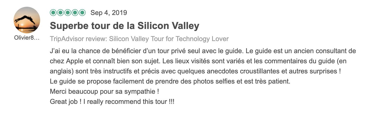 One day Silicon Valley Tour 3