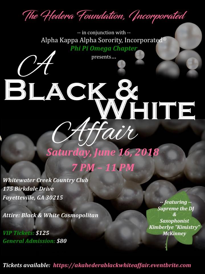 A Black & White Affair