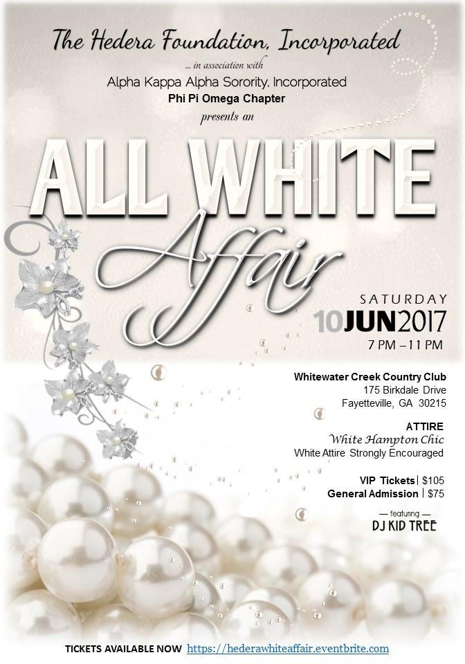 An All White Affair