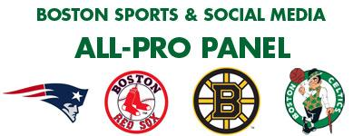 Boston Sports and Social Media - All-Pro Panel