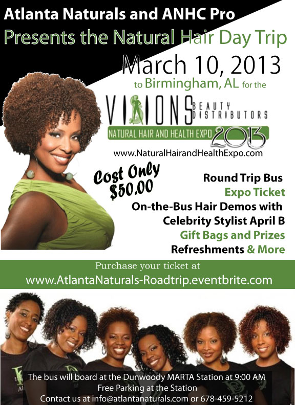 Atlanta Naturals Bus Tour to Birmingham, AL