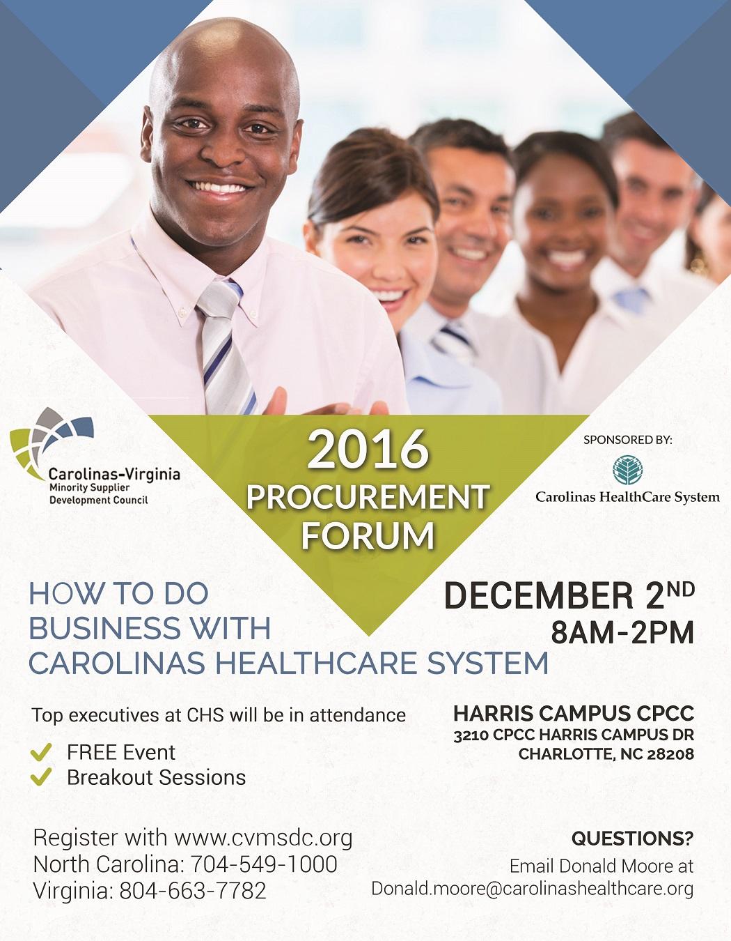 2016 PRocurement Forum