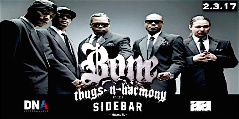Bone Thugs and Harmony @SidebarMiami