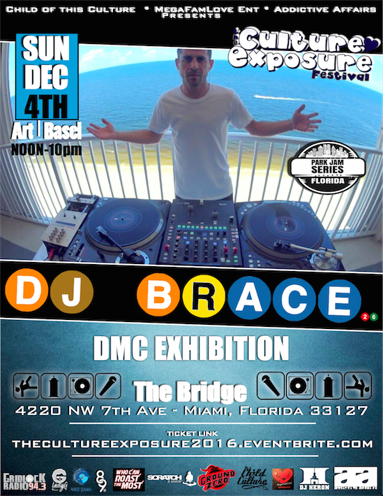 DJ Brace The Culture Exposure
