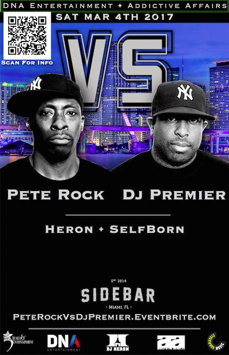 Pete Rock Vs DJ Premier @SidebarMiami