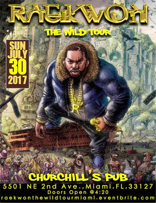 Raekwon The Wild @Churchills Pub