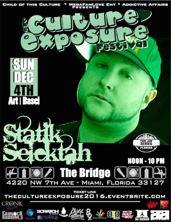 Statik Selektah The Culture Exposure