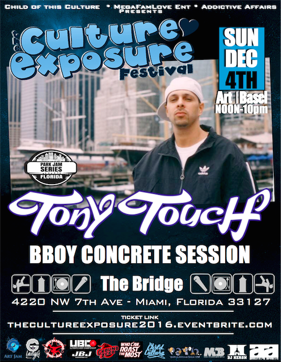 Tony Touch @ The Culture Exposure