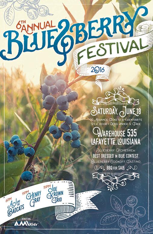 Bluesberry Poster