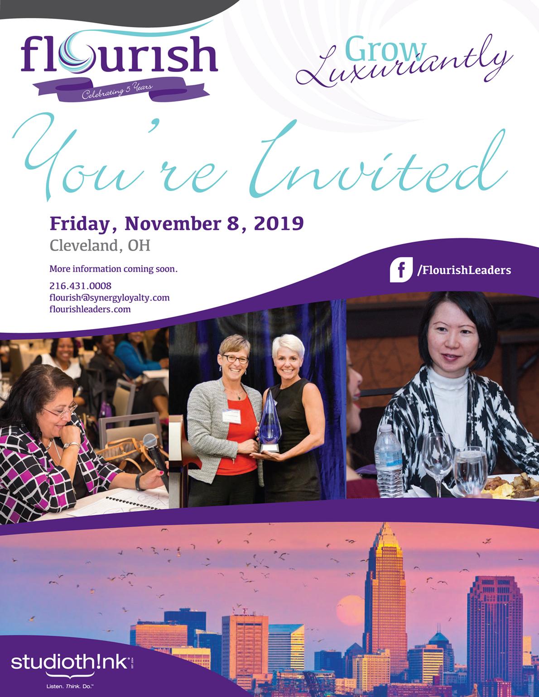 2019 Flourish CLE Invitation