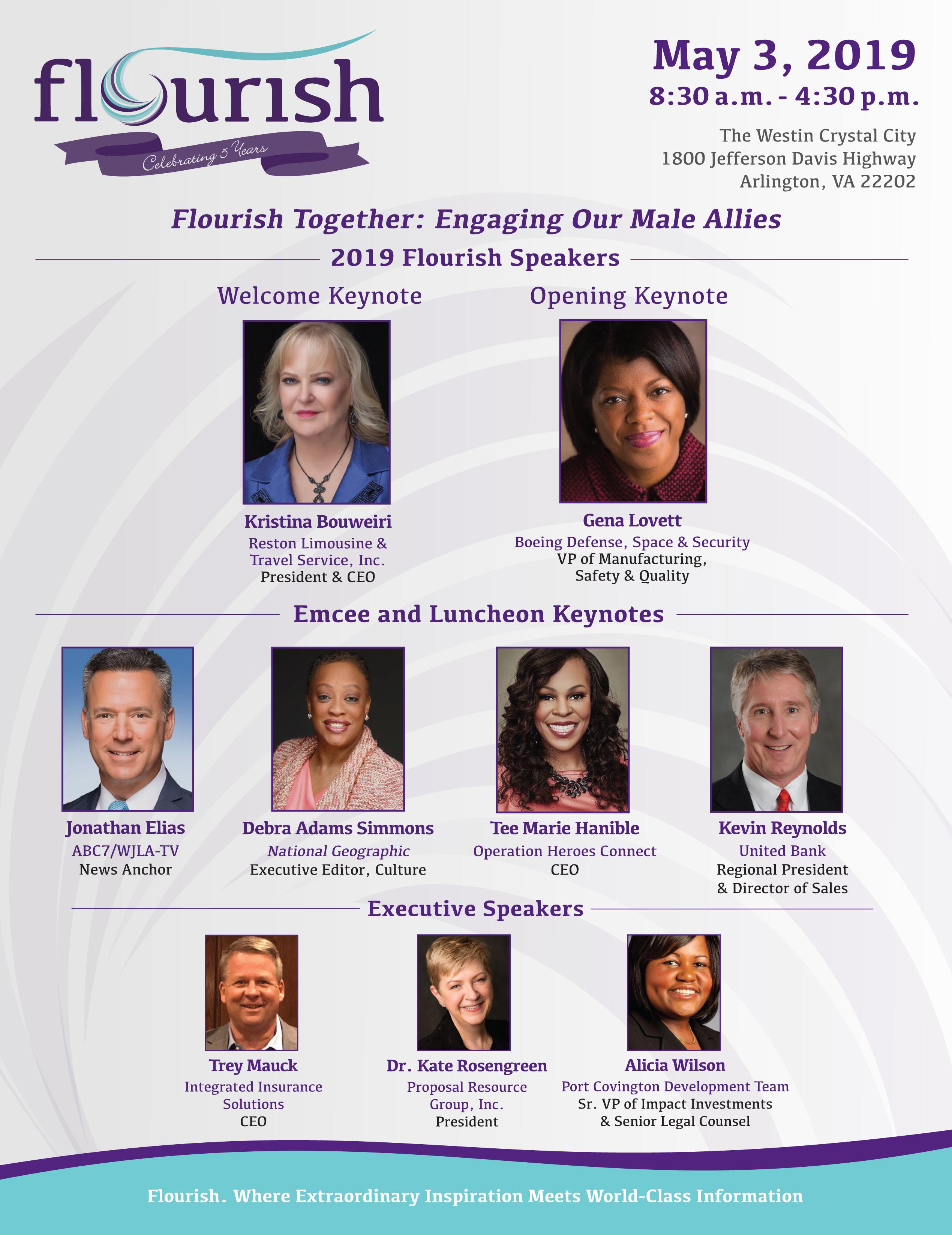 2019 Flourish DC Speakers