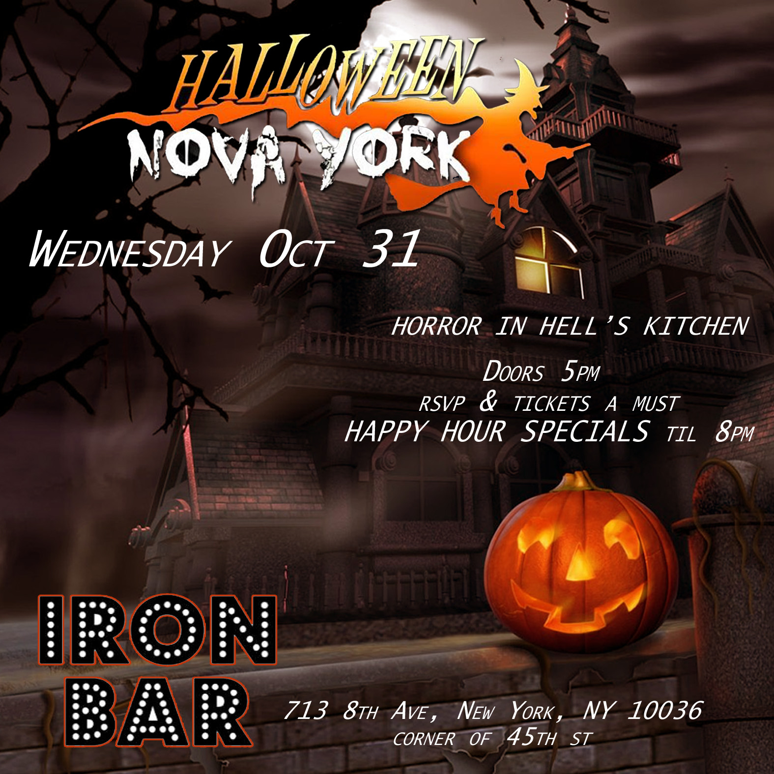 Hallowe Horror at Hells Kitchen