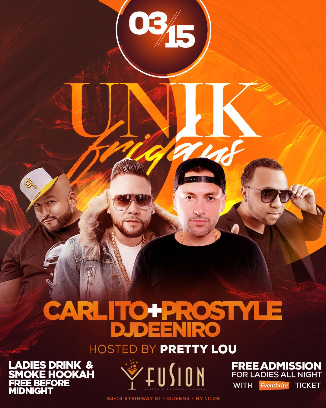 UNIK fridays at Fusion Lounge in Astoria Qns