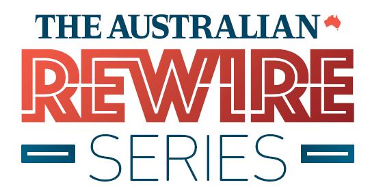 Rewire Series logo