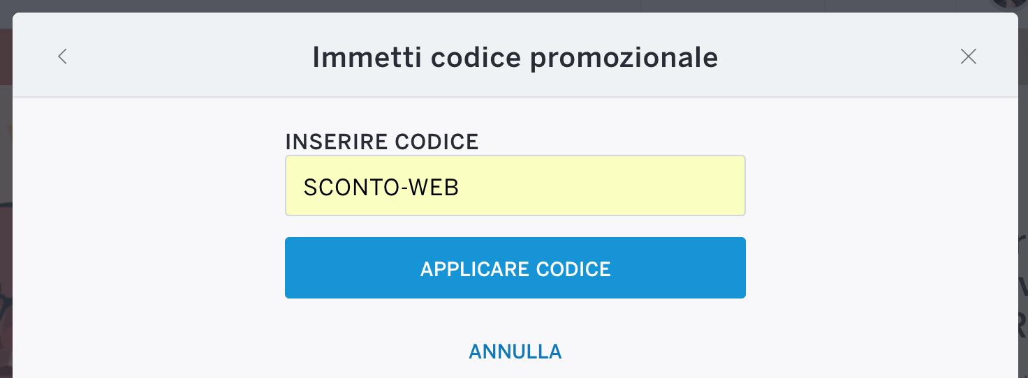 Sconto web