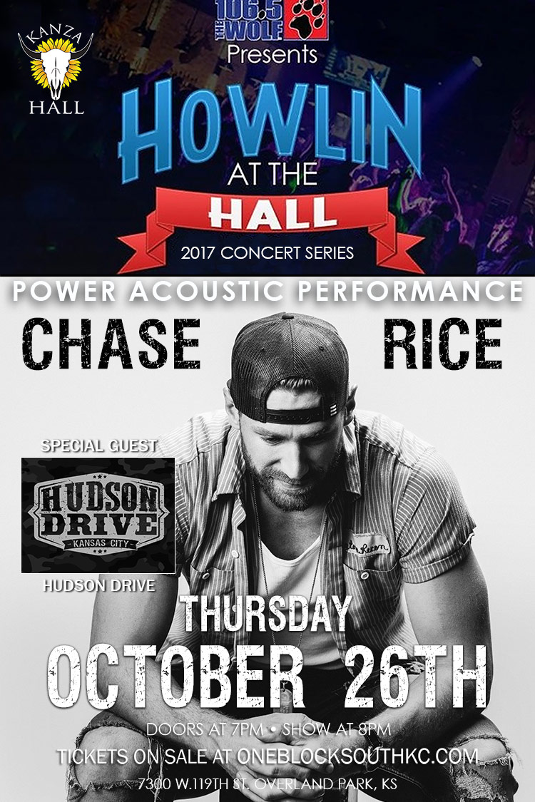 Chase Rice Power Acoustic Performance