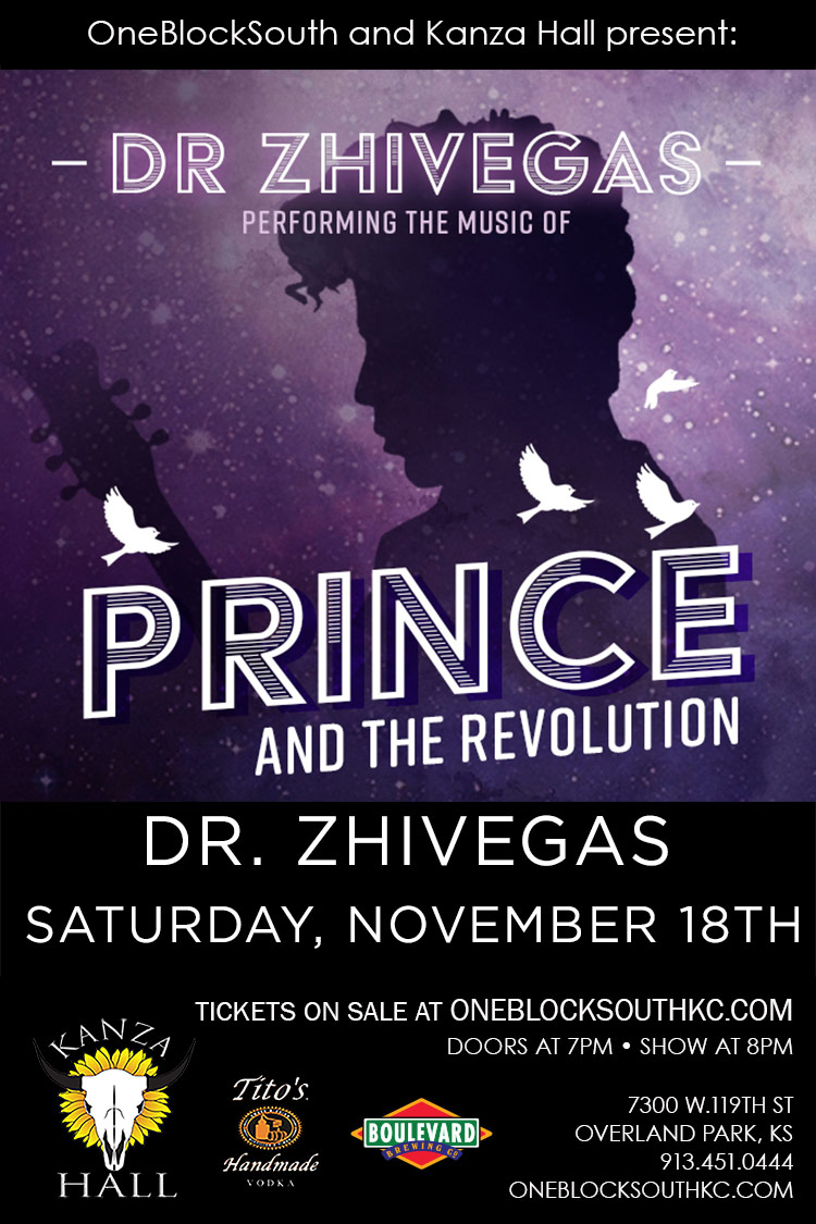 Dr. Zhivegas Performing Prince and the Revolution