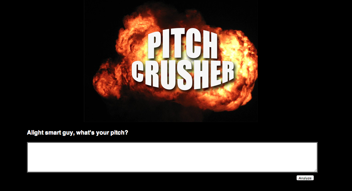 Pitch Crusher