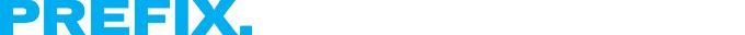 Prefix logo