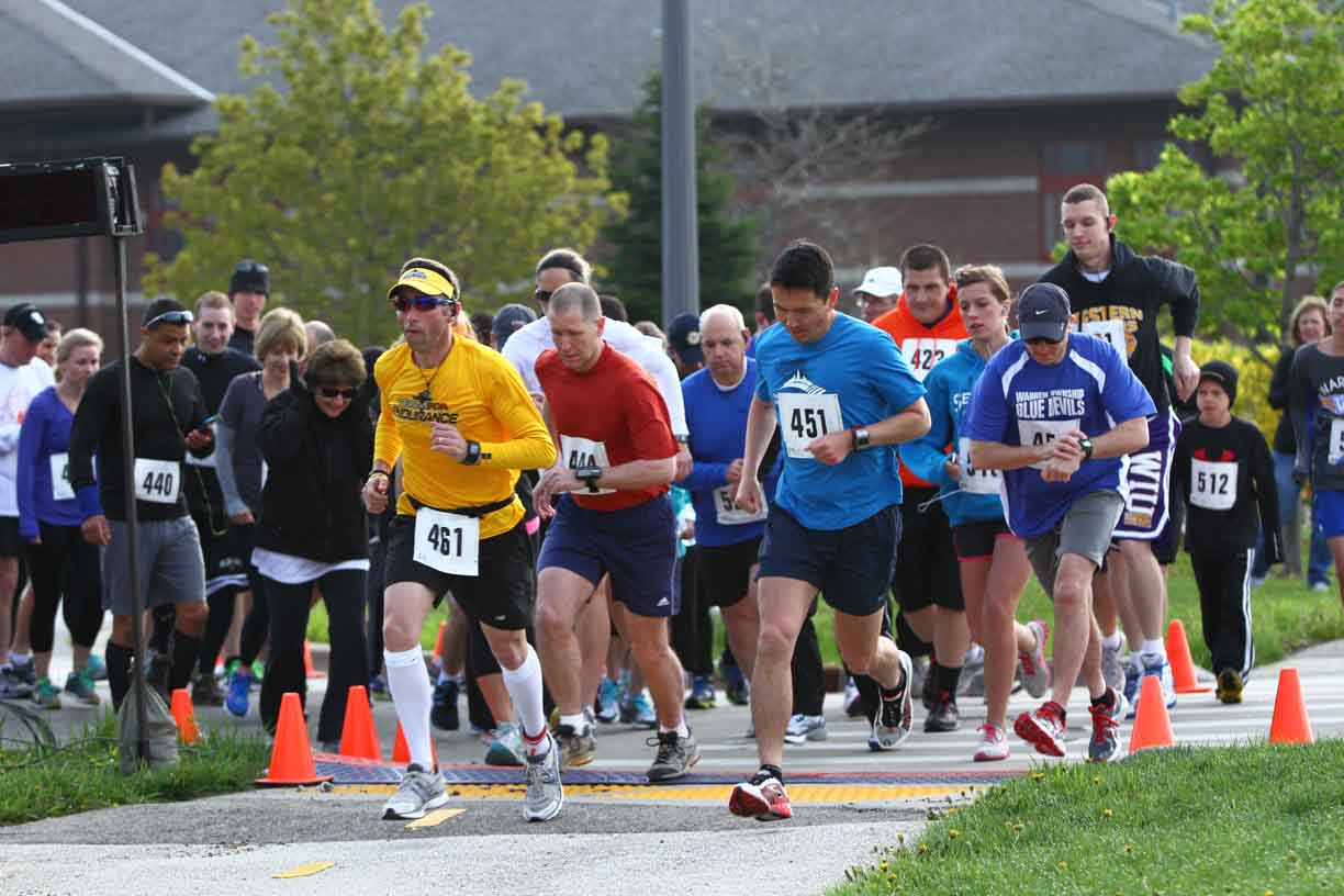 Race begins at the Gurnee Police Department