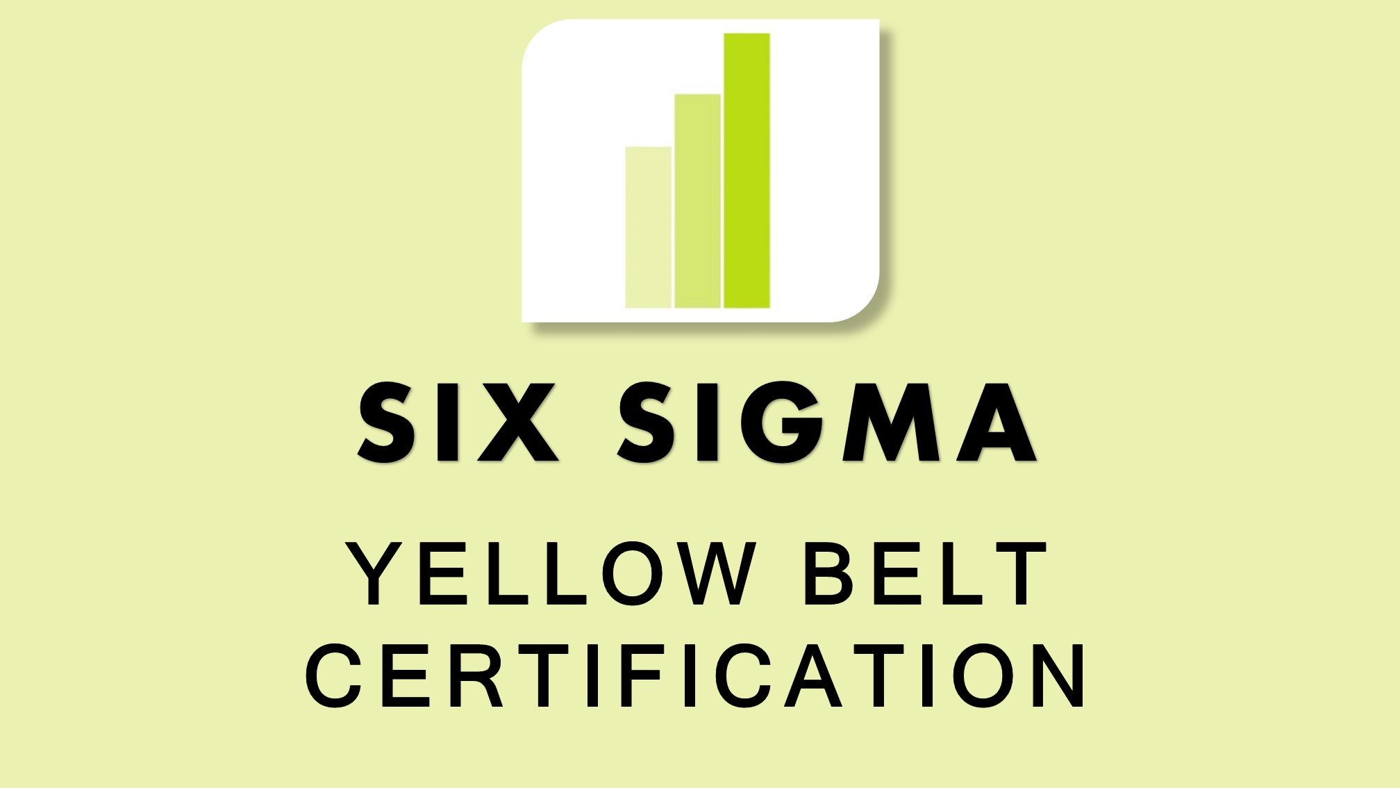 TWO Consulting Six Sigma Yellow Belt Training and Certification