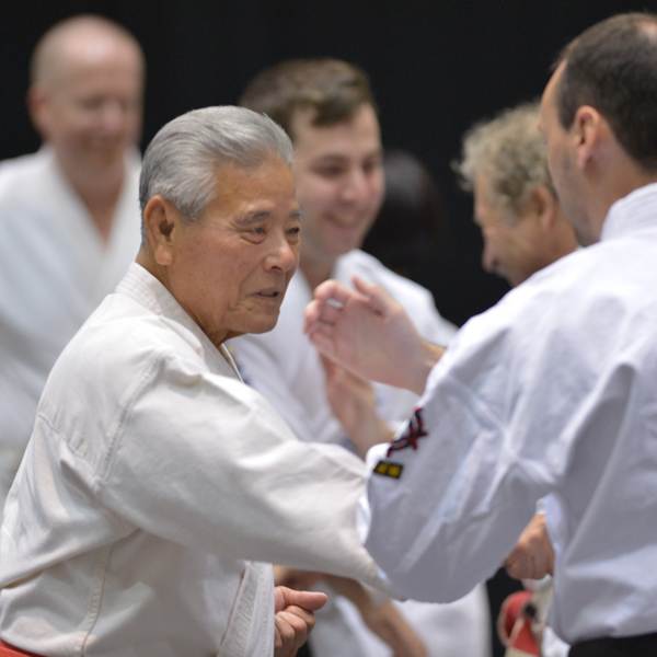 Sensei Iha teaching