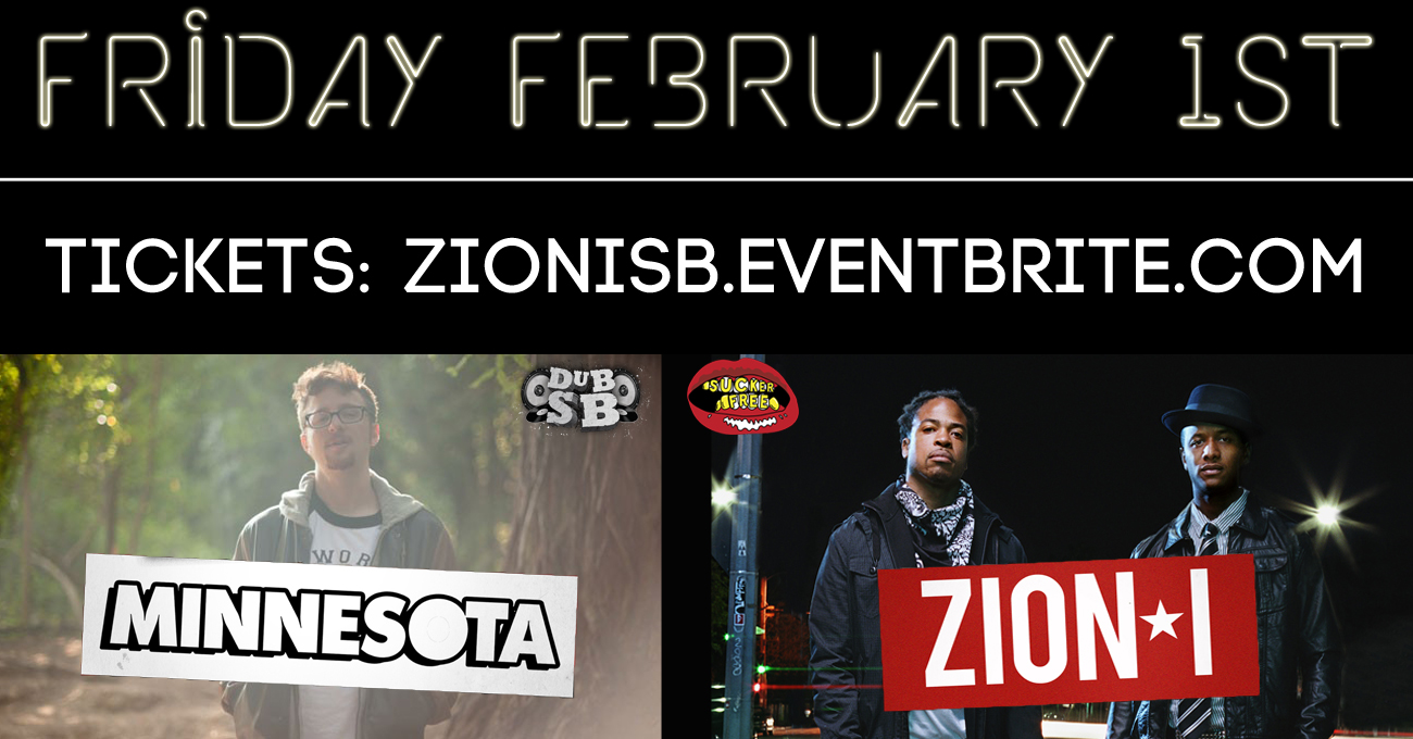 Zion I + Minnesota in SB Flyer