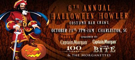 Halloween Howler Bar Crawl: Charleston SC Oct 21st
