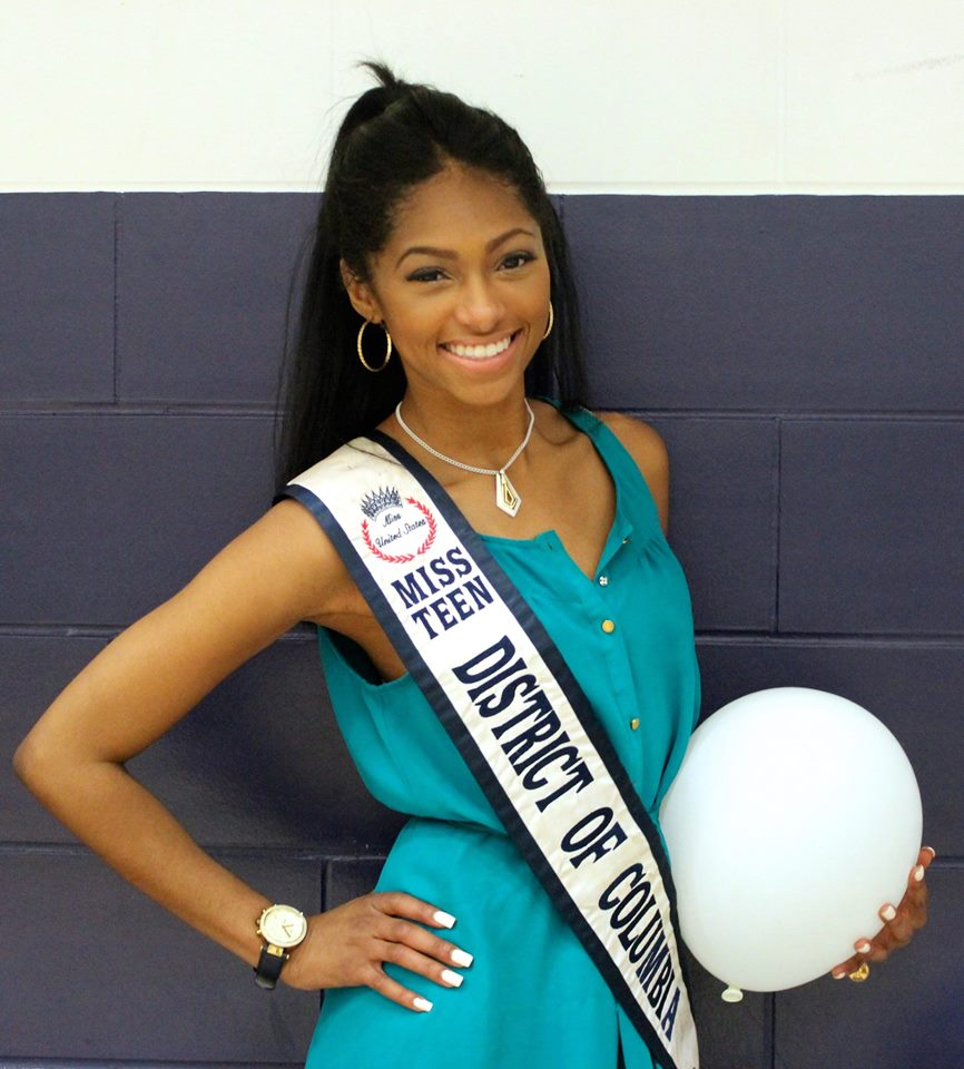 Miss Teen DC at Relay for Life