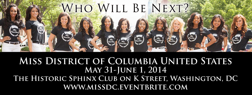Miss DC United States 2014 Banner