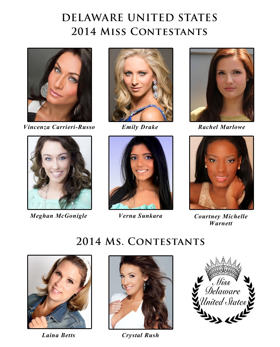 Miss and Ms Delaware United States 2014 Contestants