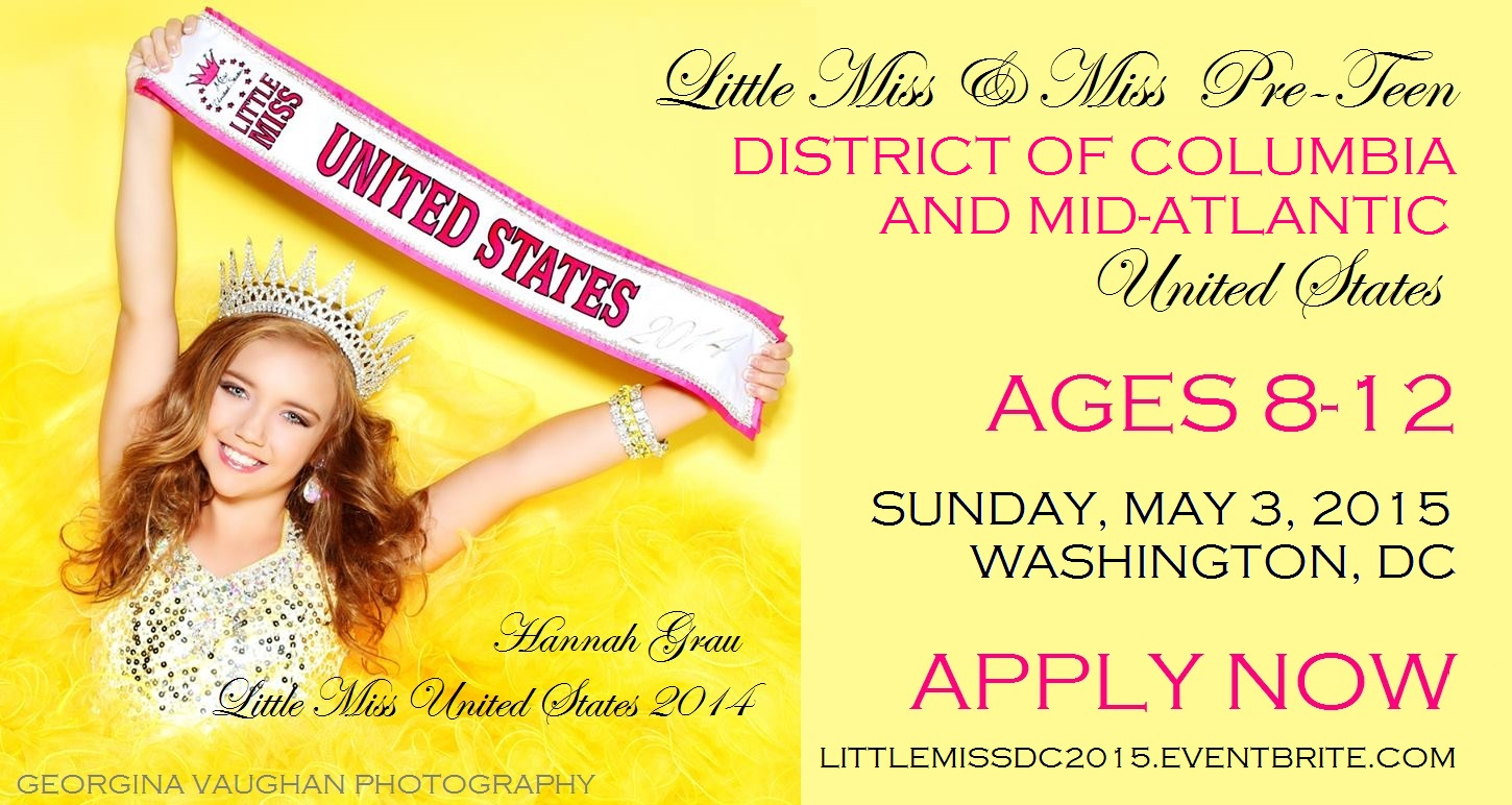 Little Miss DC United States 2015