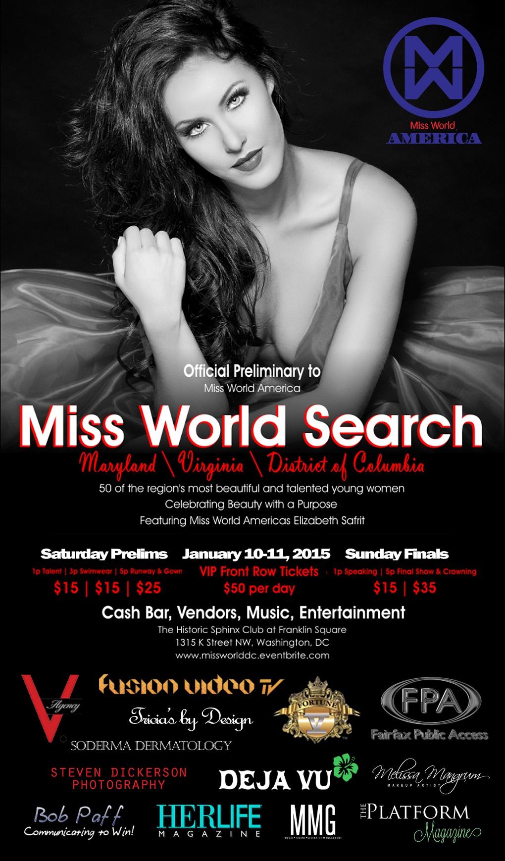 Miss World Search Jan 10-11 2015