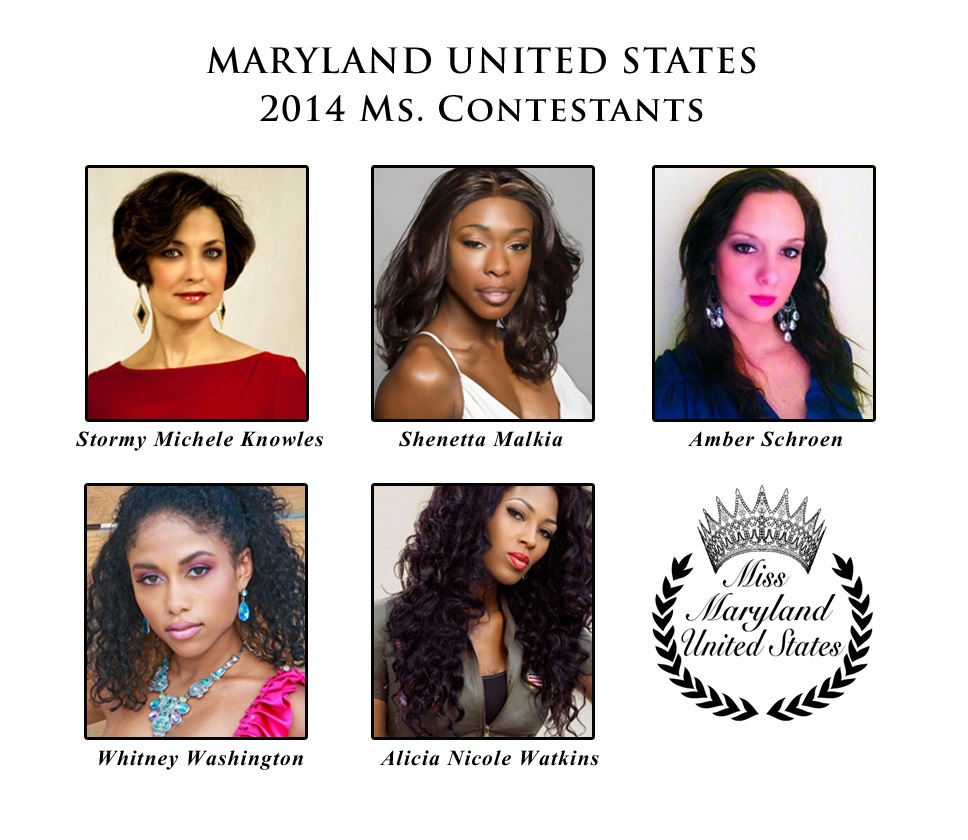 Ms Maryland United States Contestants