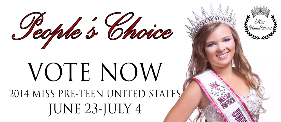 2014 Miss Pre-Teen United States People's Choice