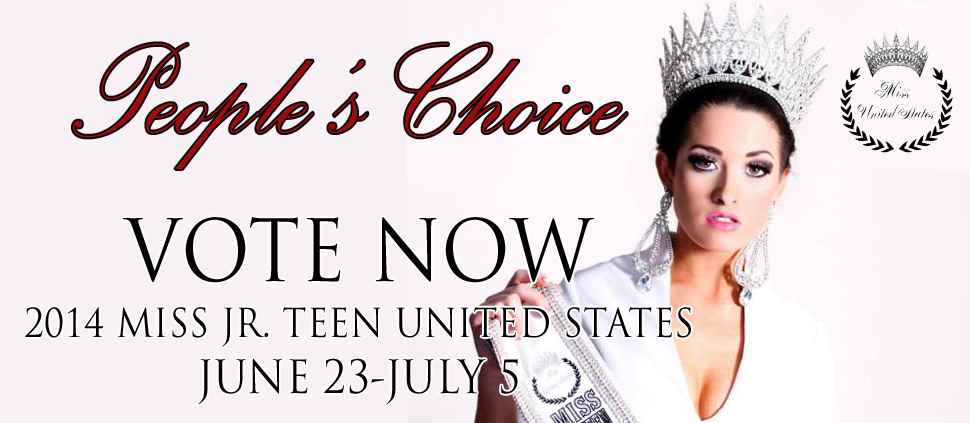 Miss Jr Teen United States People's Choice