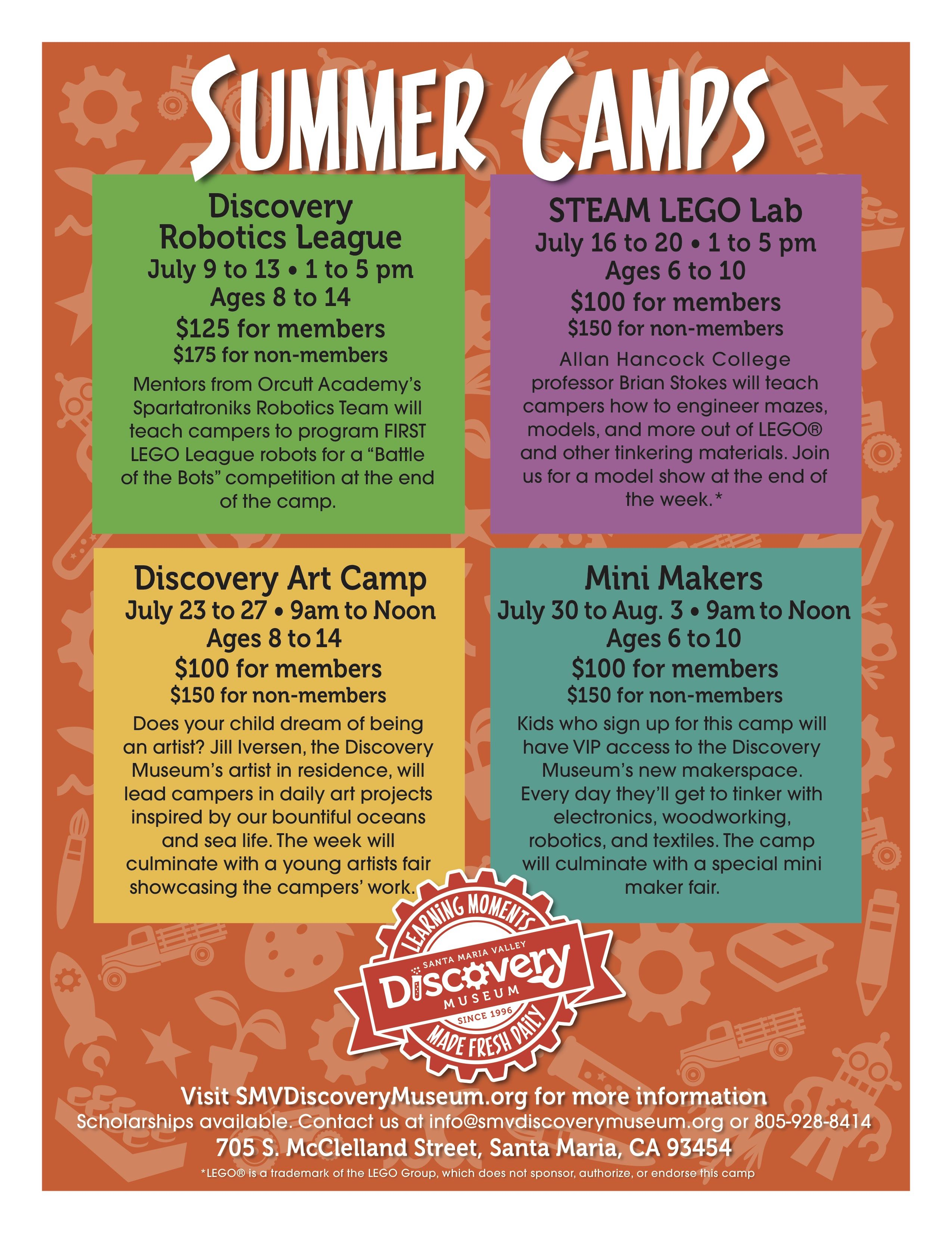 Summer Camp Flyer Revised