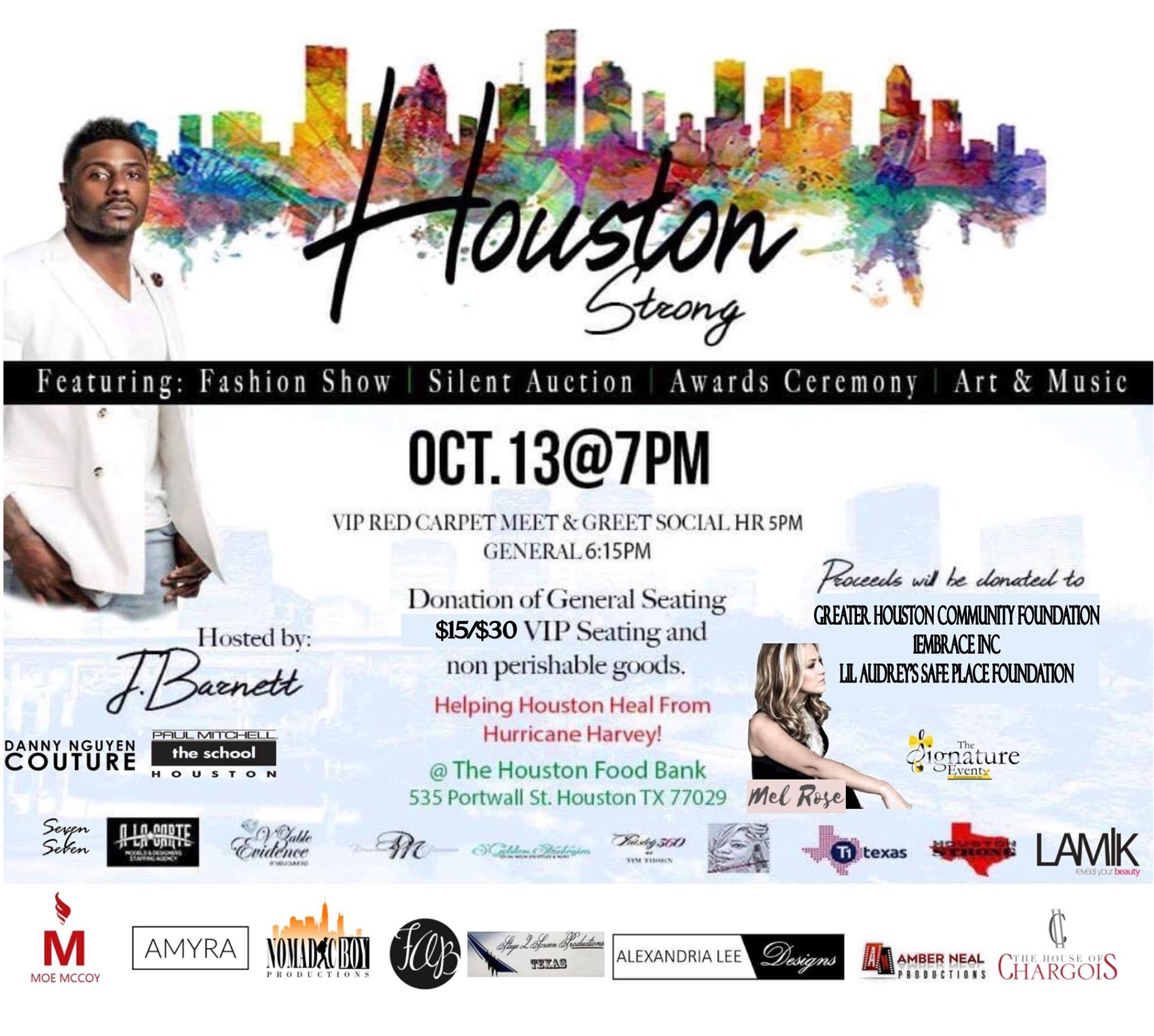 Houston Strong Fundraiser Event