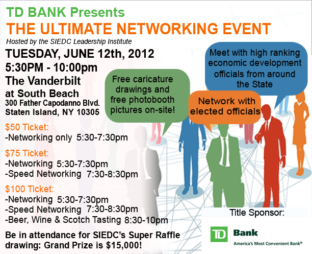 TD Bank Presents the Ultimate Networking Event on June 12th