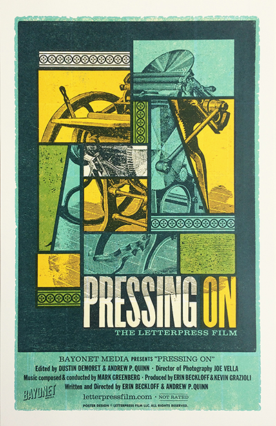 Pressing On Film Poster
