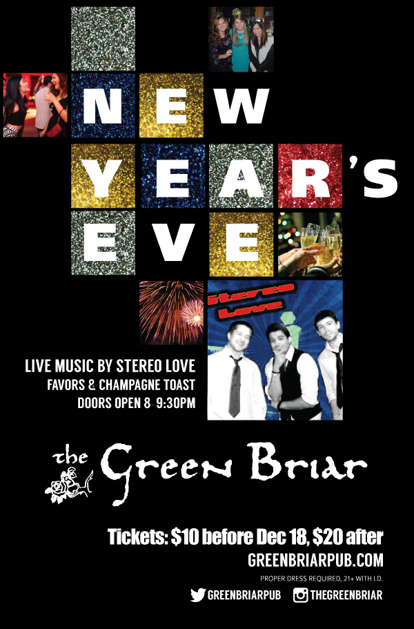 New Year's Eve at The Green Briar