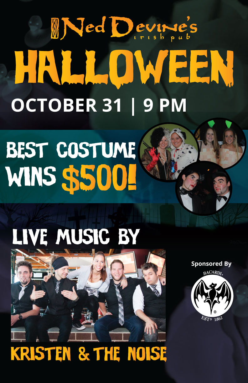 Ned Devine's Halloween Party Tickets, Sat, Oct 31, 2015 at 9:00 PM ...
